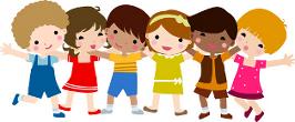 Lachende Kinder in der Kinderkrippe Zarmdorf